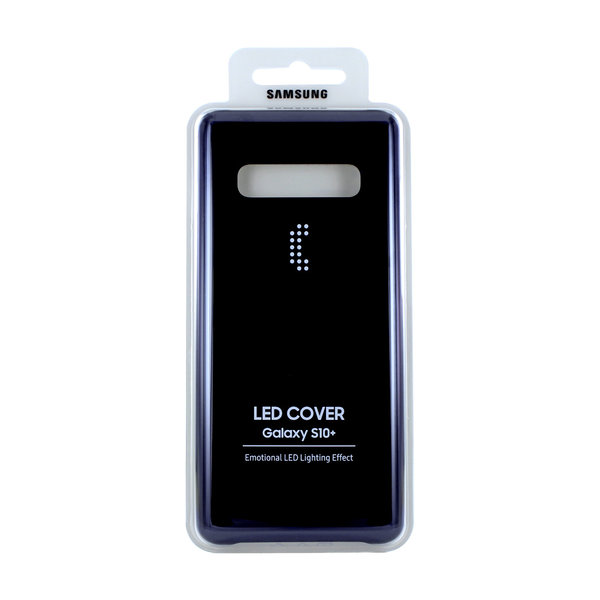 Samsung - EF-KG975CB - Galaxy S10 Plus LED Back Schutzhülle Hülle Cover Case Original