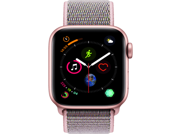 Watch 4 gold 44 mm Loop pink sand